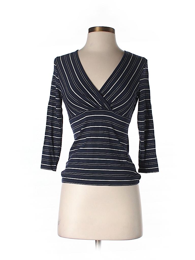 Ann Taylor Women 3/4 Sleeve Top Size XS (Petite)