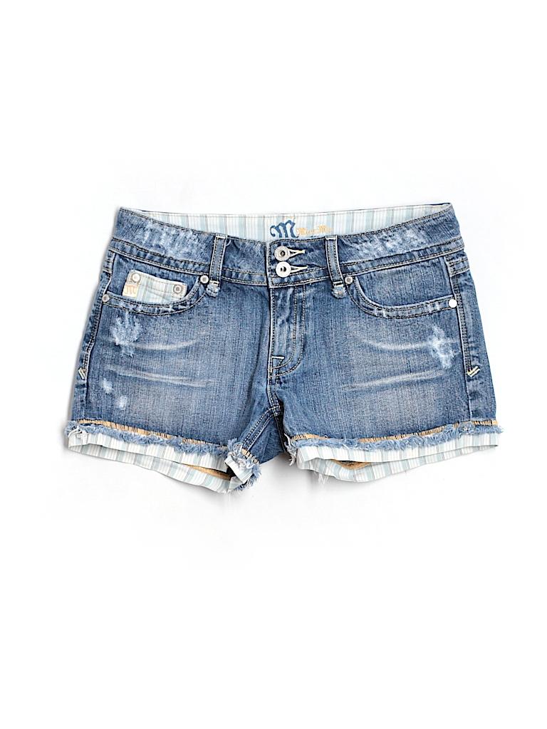 Miss Me Women Denim Shorts 27 Waist
