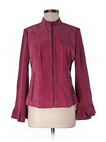 AMI Leather Jacket Size M