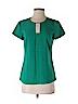 Ann Taylor Women Short Sleeve Blouse Size 2