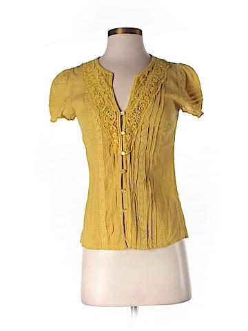 Cremieux Short Sleeve Blouse Size XS