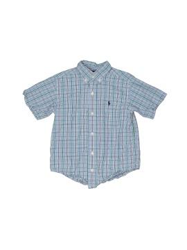 Ralph Lauren Short Sleeve Button Down Shirt - front