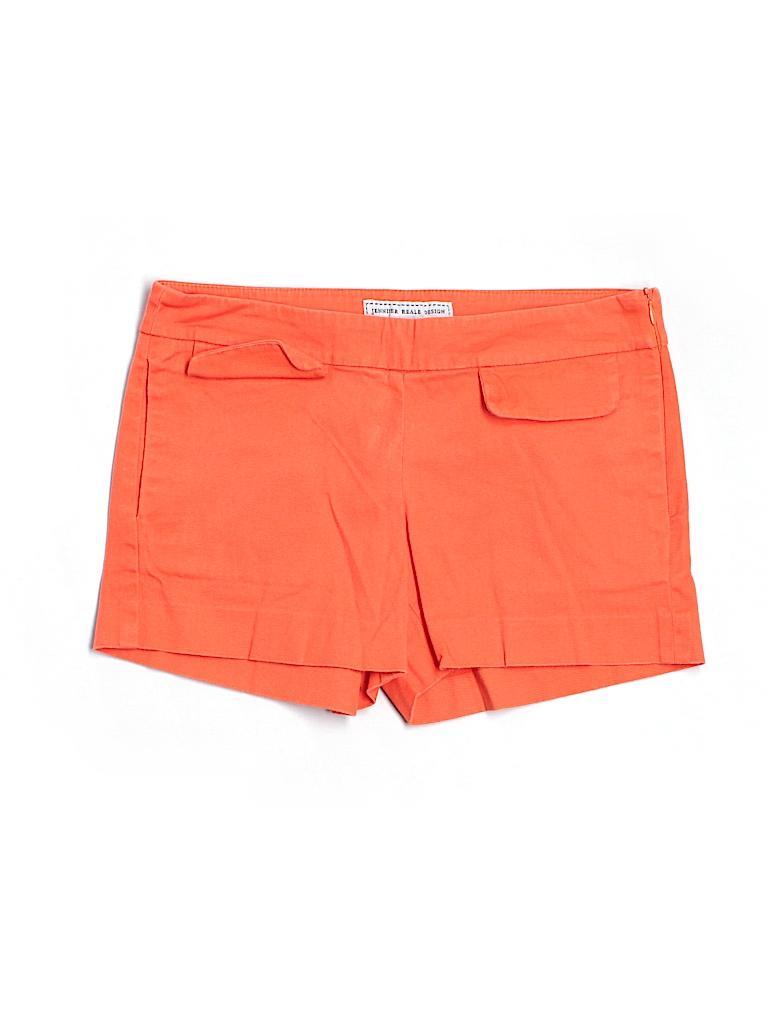 Jennifer Reale Design Women Khaki Shorts Size 0