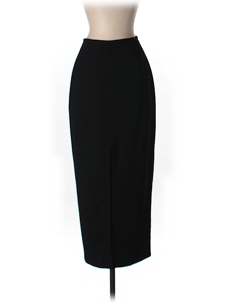 Ann Taylor Women Wool Skirt Size 2 (Petite)