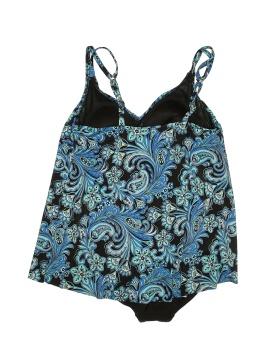Croft & Barrow Plus One Piece Swimsuit - back