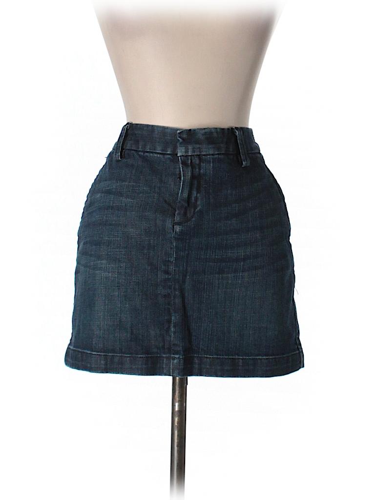 gap outlet denim skirt 77 only on thredup
