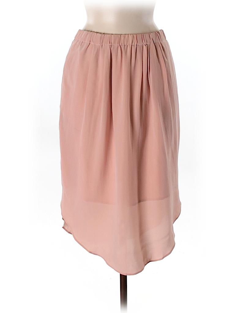 Madewell Women Silk Skirt Size M