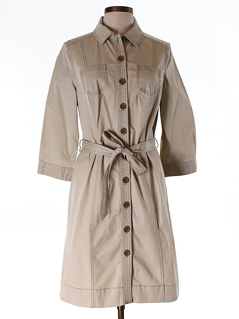 Boden Women Trenchcoat Size 14 (UK)