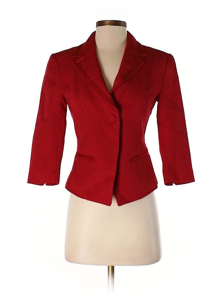 White House Black Market Women Blazer Size 00