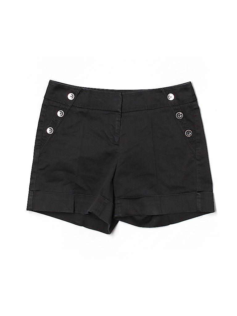 White House Black Market Women Khaki Shorts Size 0