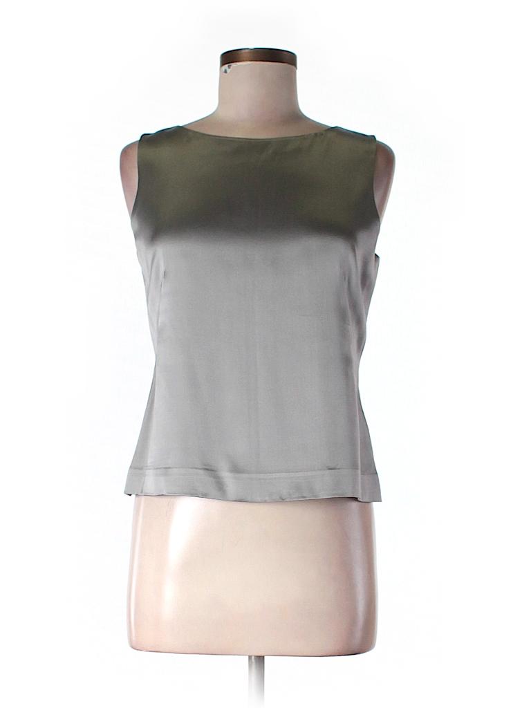 Ann Taylor LOFT Women Sleeveless Silk Top Size 6