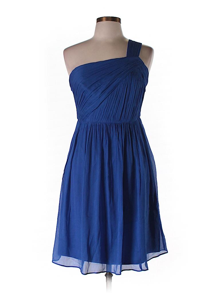J. Crew Women Silk Dress Size 10 (Petite)