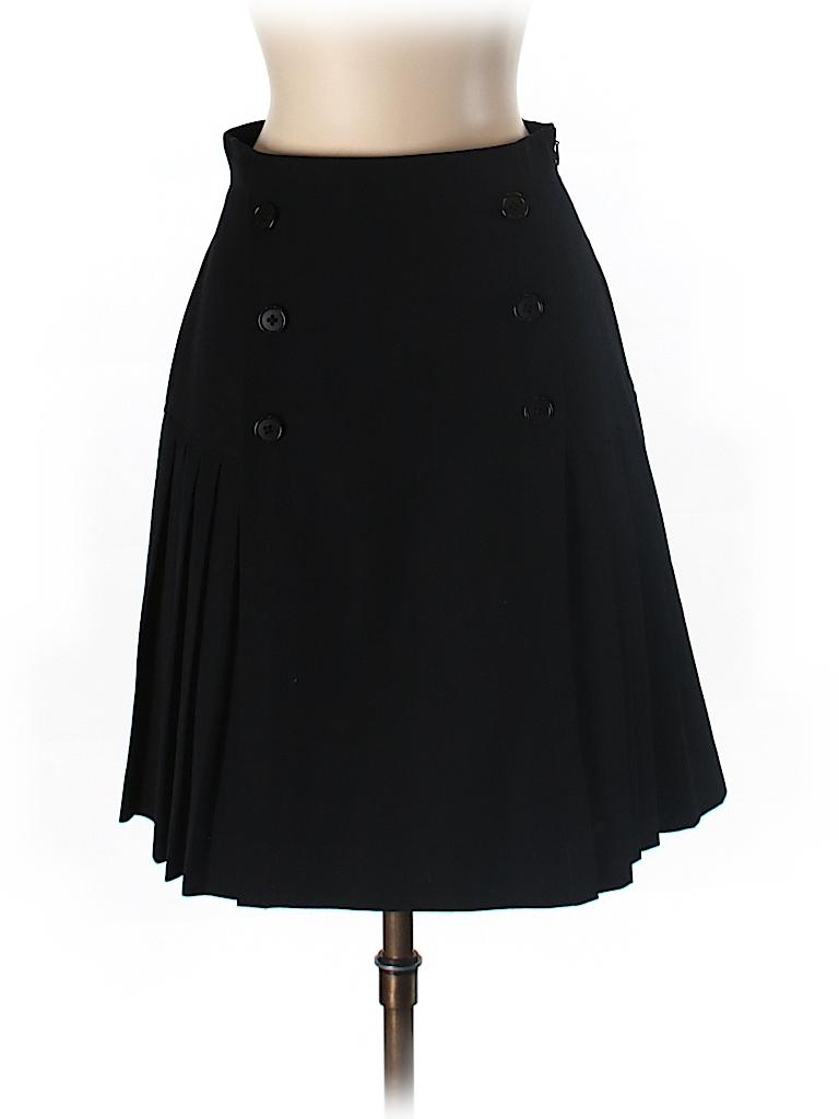 Classiques Entier Women Wool Skirt Size 4