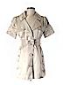 Bebe Women Trenchcoat Size M