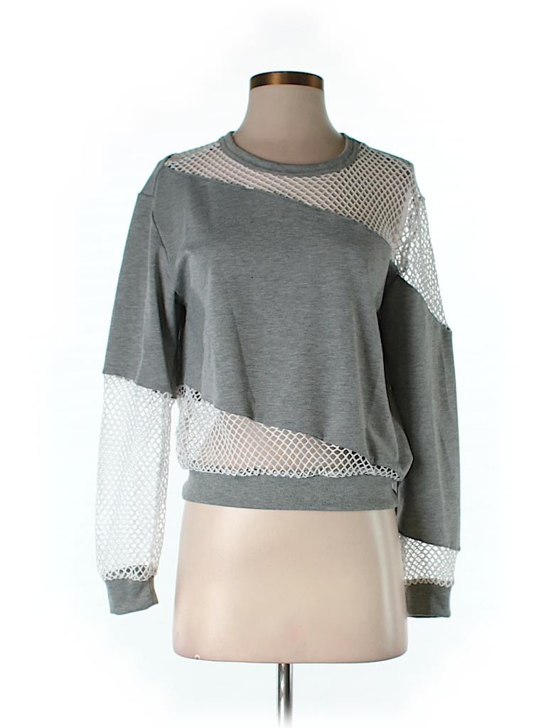 TOBI Women Sweatshirt Size S