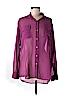 CAbi Women Long Sleeve Button-Down Shirt Size M