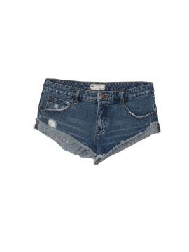 Free People Denim Shorts - front