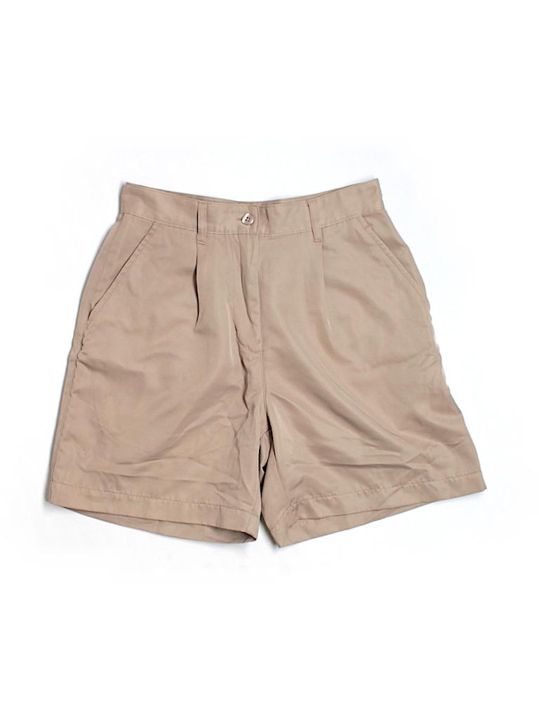 Nike Women Khaki Shorts Size S (Petite)