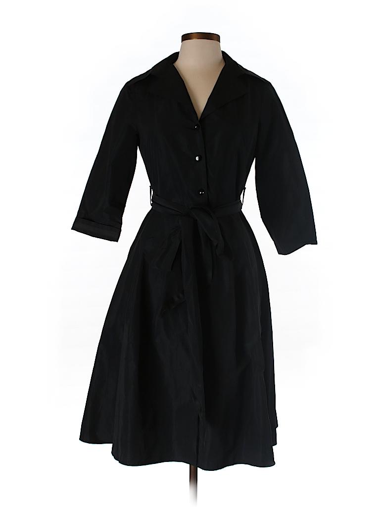 Helene Berman Women Trenchcoat Size L
