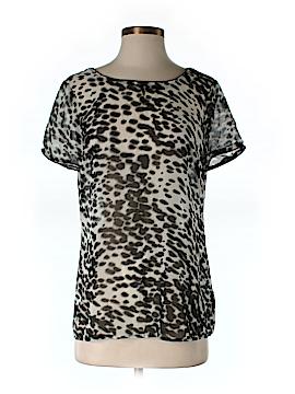 Walter Short Sleeve Silk Top Size 4