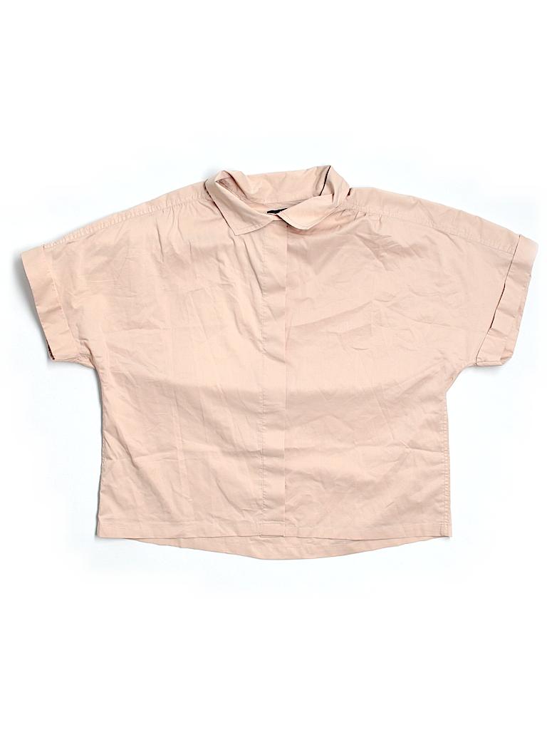 Gap Women Short Sleeve Blouse Size L