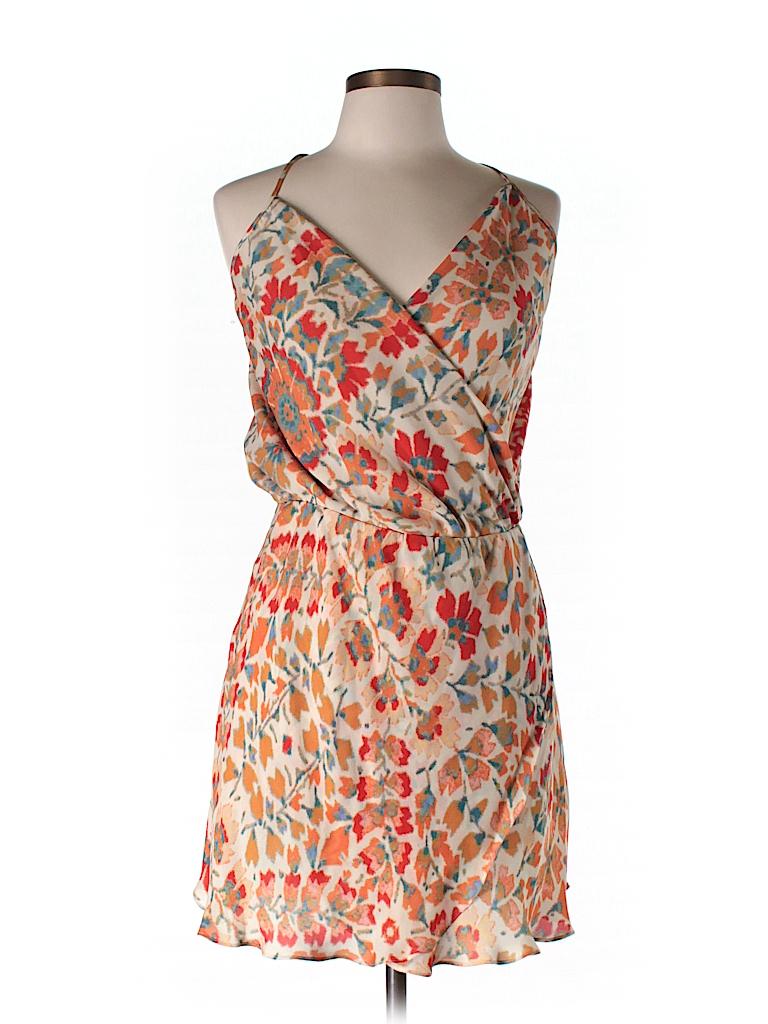 Haute Hippie Women Silk Dress Size L
