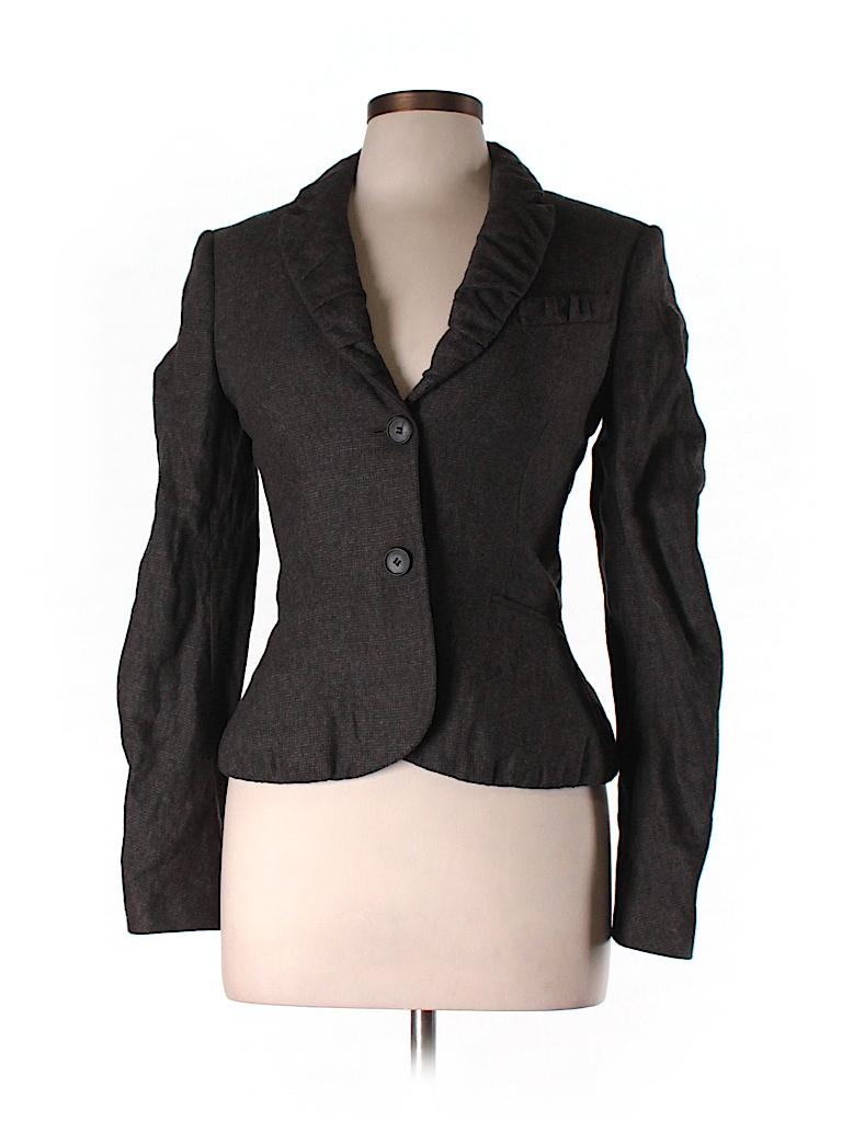 All Saints Women Wool Blazer Size 10