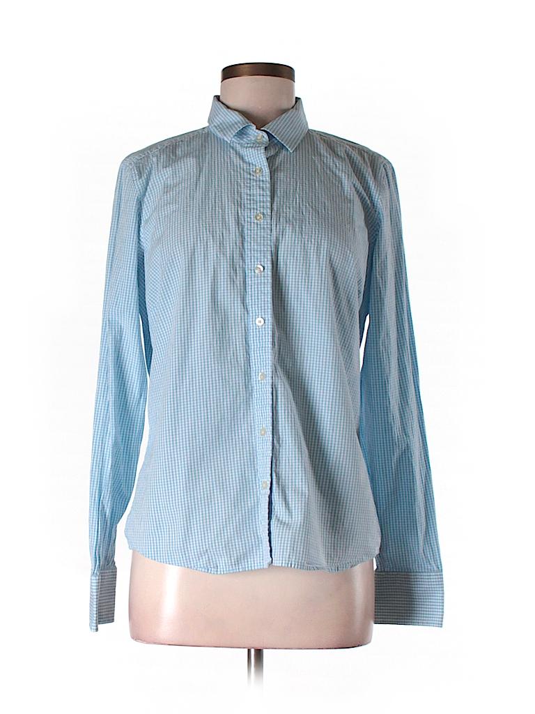 Vineyard Vines Women Long Sleeve Button-Down Shirt Size 12