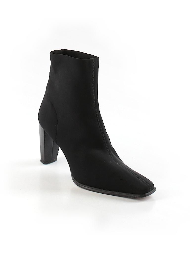 Stuart Weitzman Women Ankle Boots Size 9 1/2