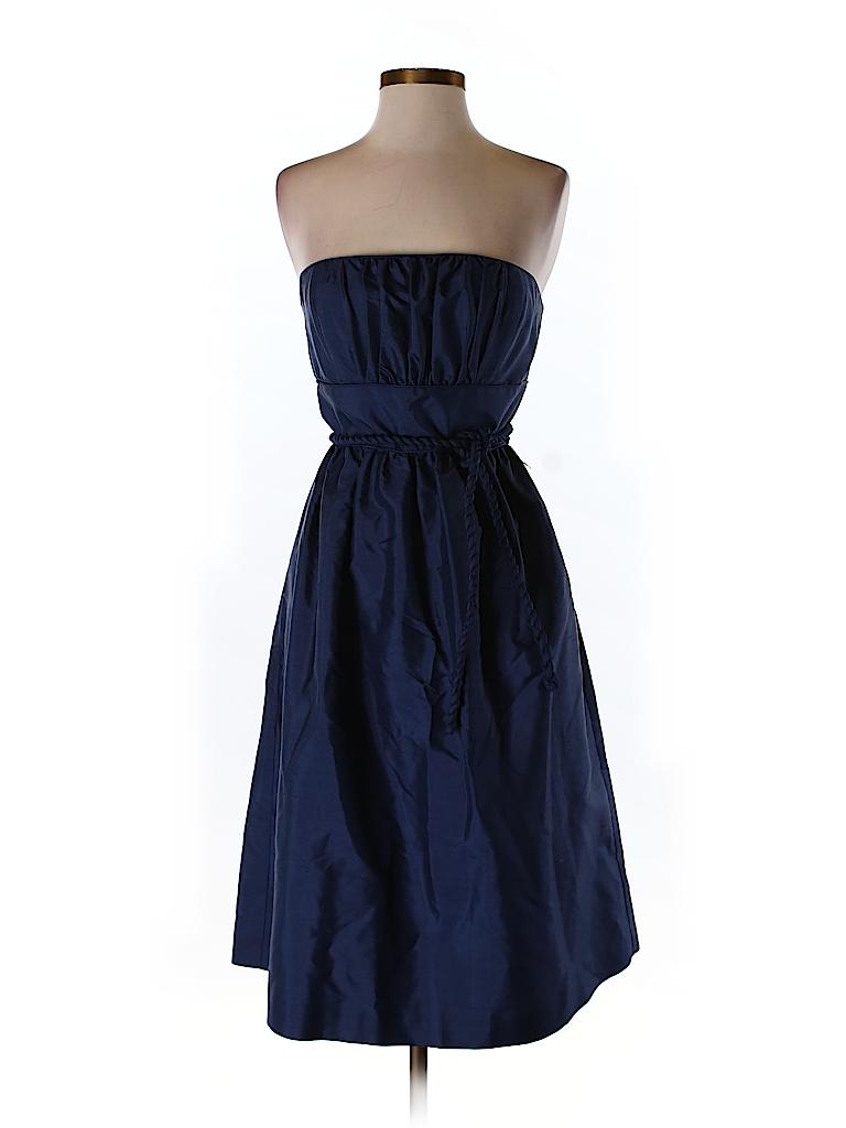 J. Crew Women Silk Dress Size 2