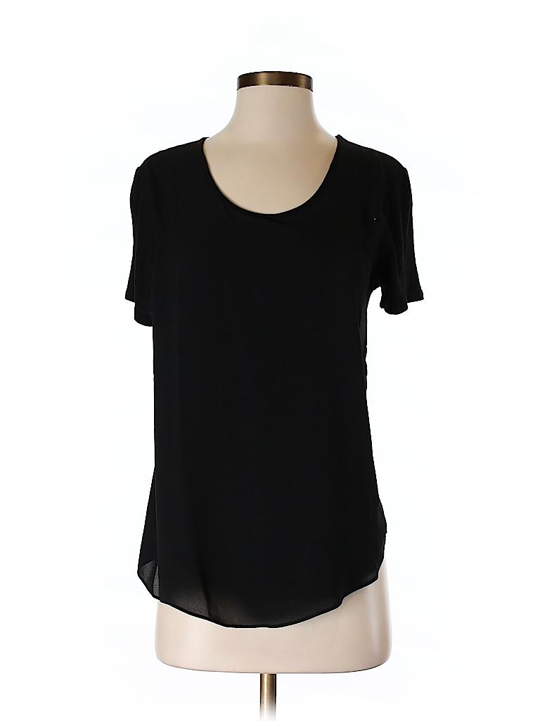 Ann Taylor LOFT Women Short Sleeve Blouse Size S