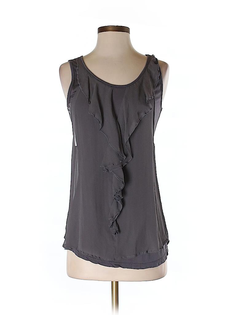 Milla Women Sleeveless Silk Top Size S