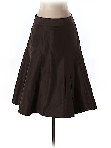 J. Crew Silk Skirt Size 0