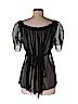 Elie Tahari Women 3/4 Sleeve Blouse Size M