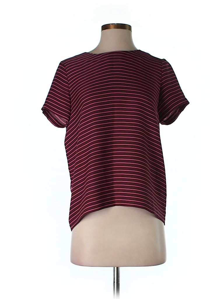 Ann Taylor LOFT Women Short Sleeve Blouse Size S (Petite)