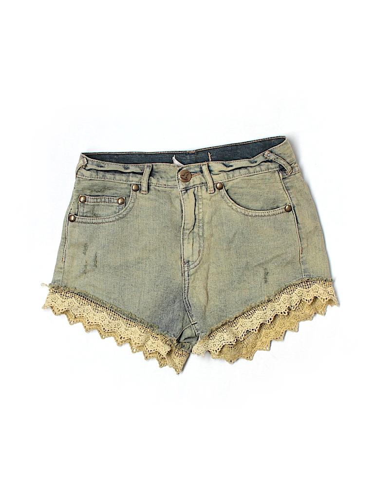 Free People Women Denim Shorts 24 Waist