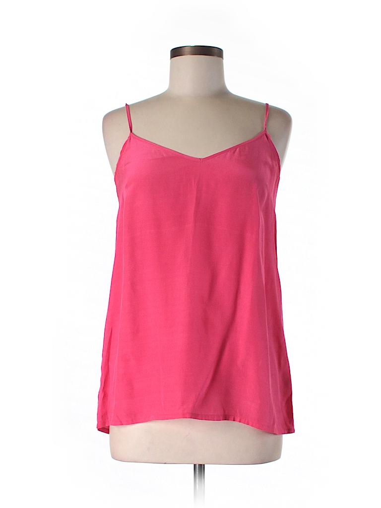 525 America Women Sleeveless Silk Top Size S