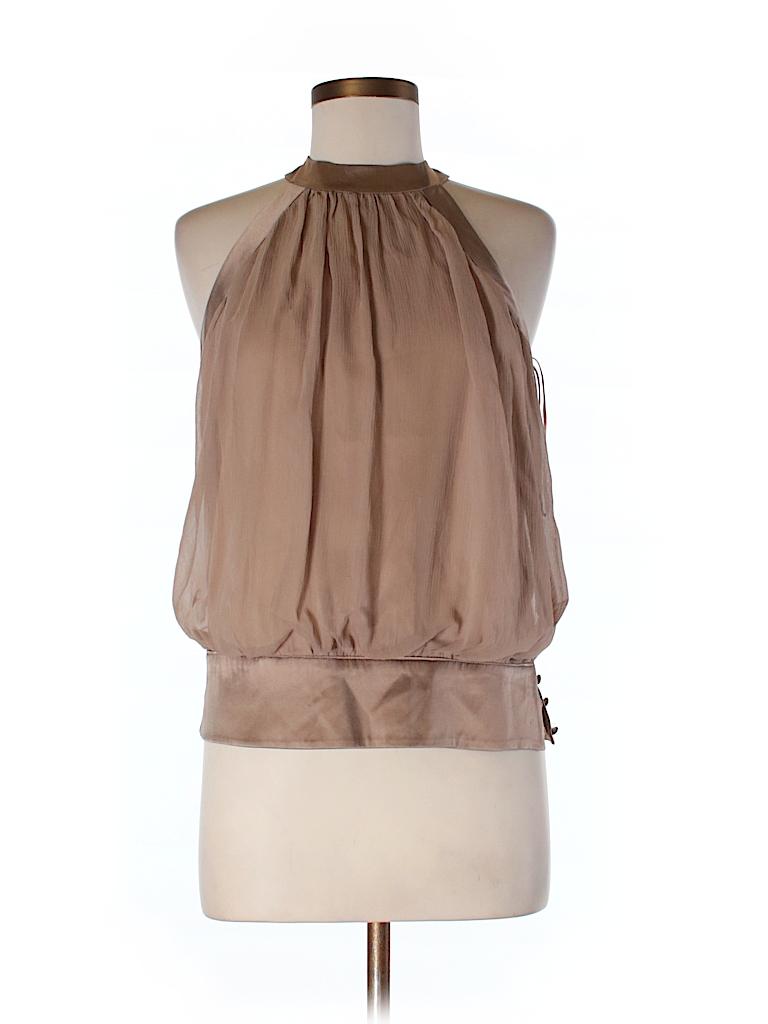 Trina Turk Women Sleeveless Silk Top Size 8
