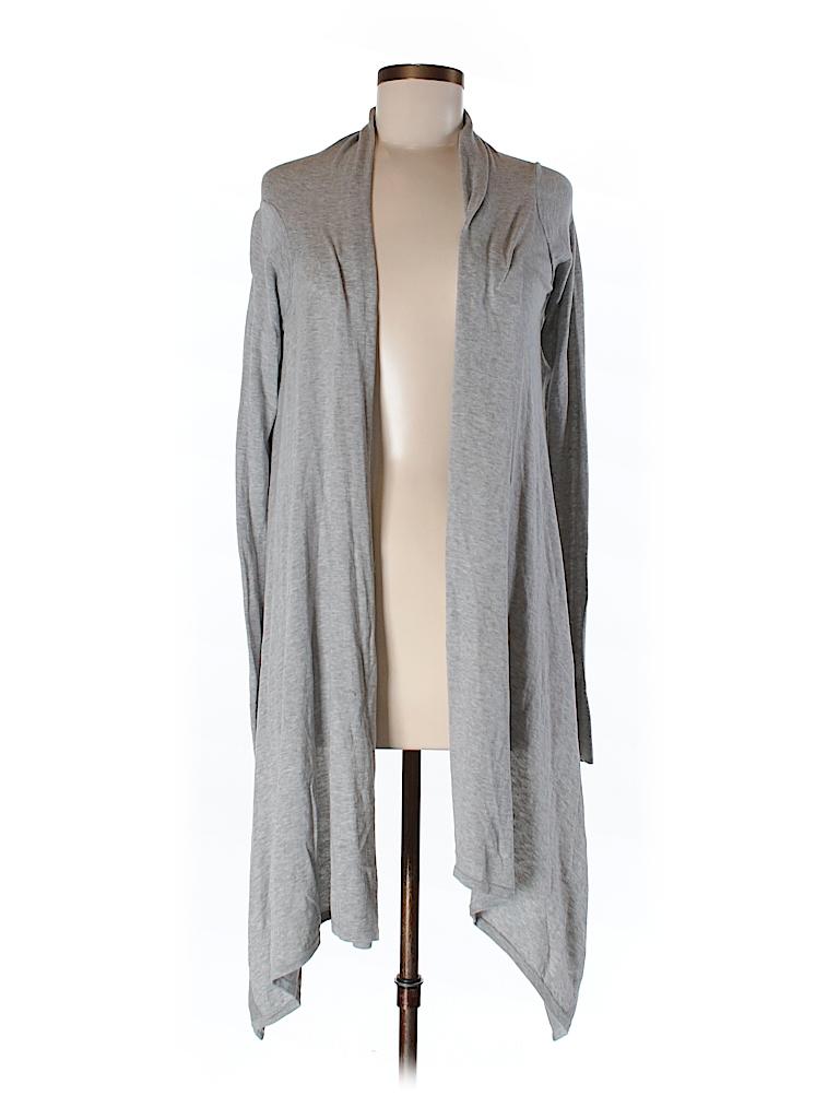 BCBGMAXAZRIA Women Silk Cardigan Size XS