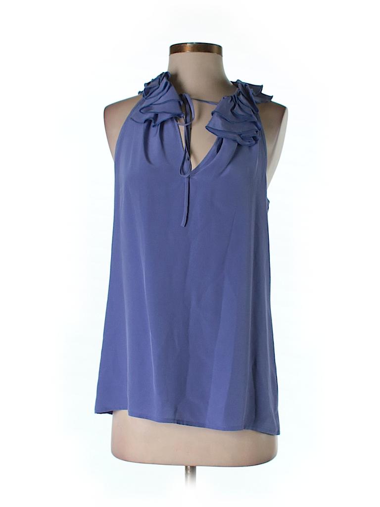 Fifteen Twenty Women Sleeveless Silk Top Size XS