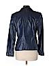 Jones New York Women Leather Jacket Size 10