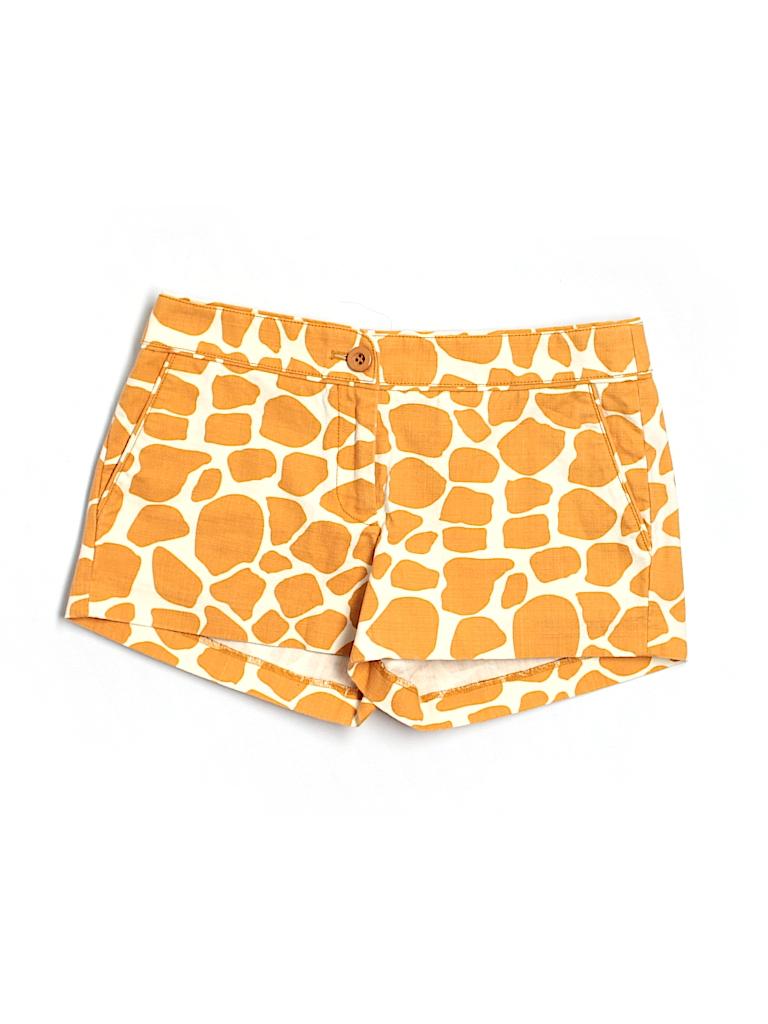 J. Crew Women Khaki Shorts Size 4