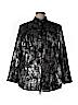 MICHAEL Michael Kors Women Long Sleeve Button-Down Shirt Size 2X (Plus)
