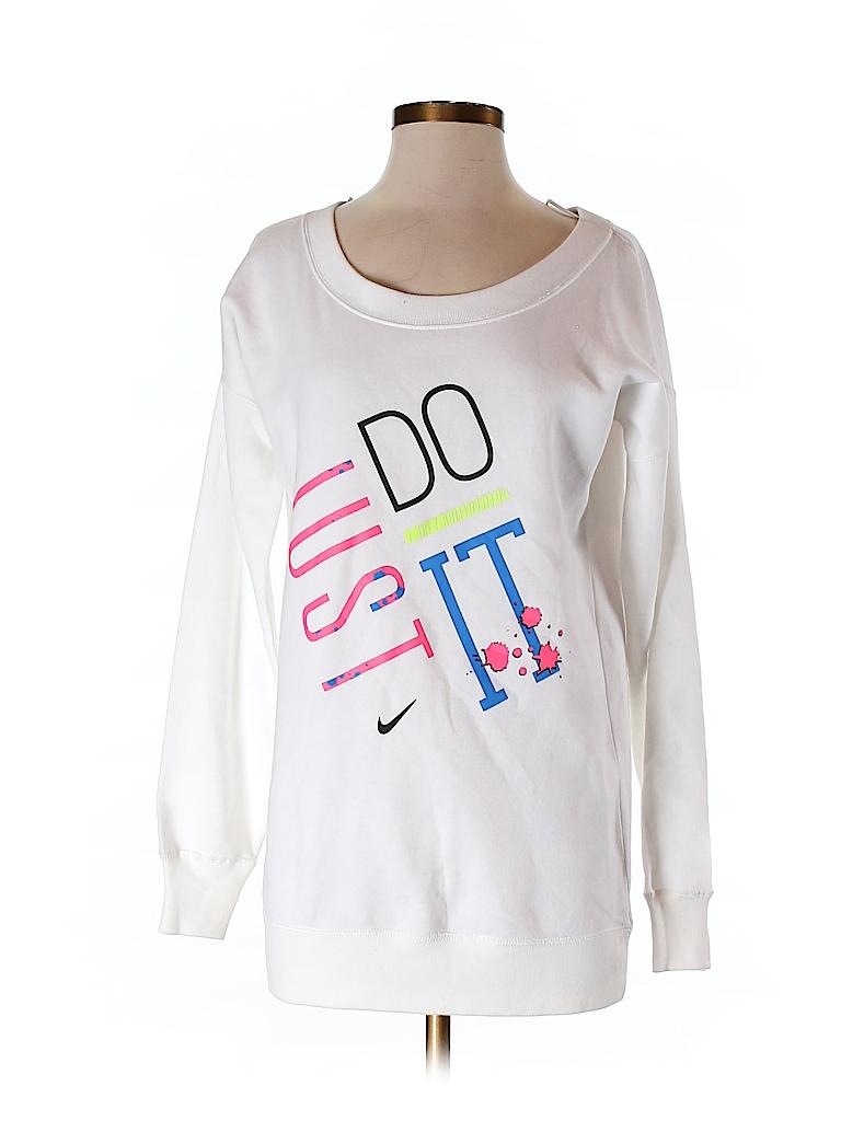 Nike Women Sweatshirt Size S