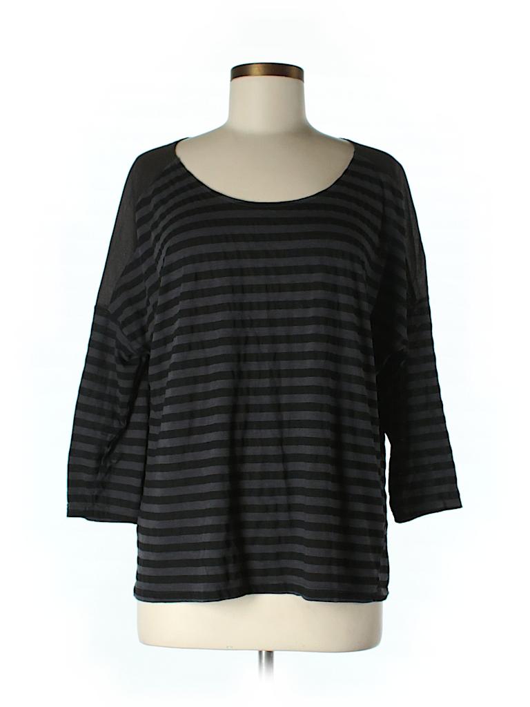 Michael Stars Women 3/4 Sleeve T-Shirt Size Sm (0)