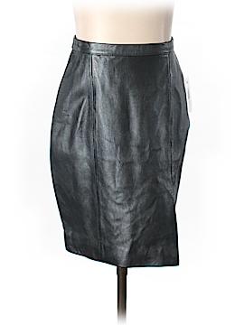 Tadashi Leather Skirt Size 4