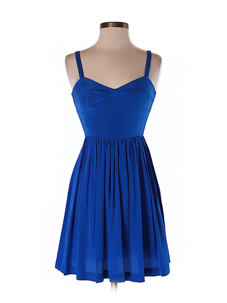 Amanda Uprichard Women Silk Dress Size P