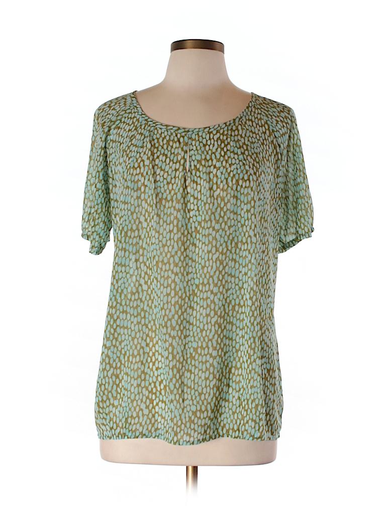 CAbi Women 3/4 Sleeve Blouse Size M