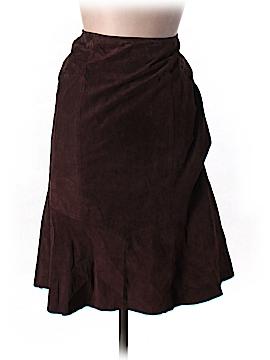 Shape FX Leather Skirt Size L