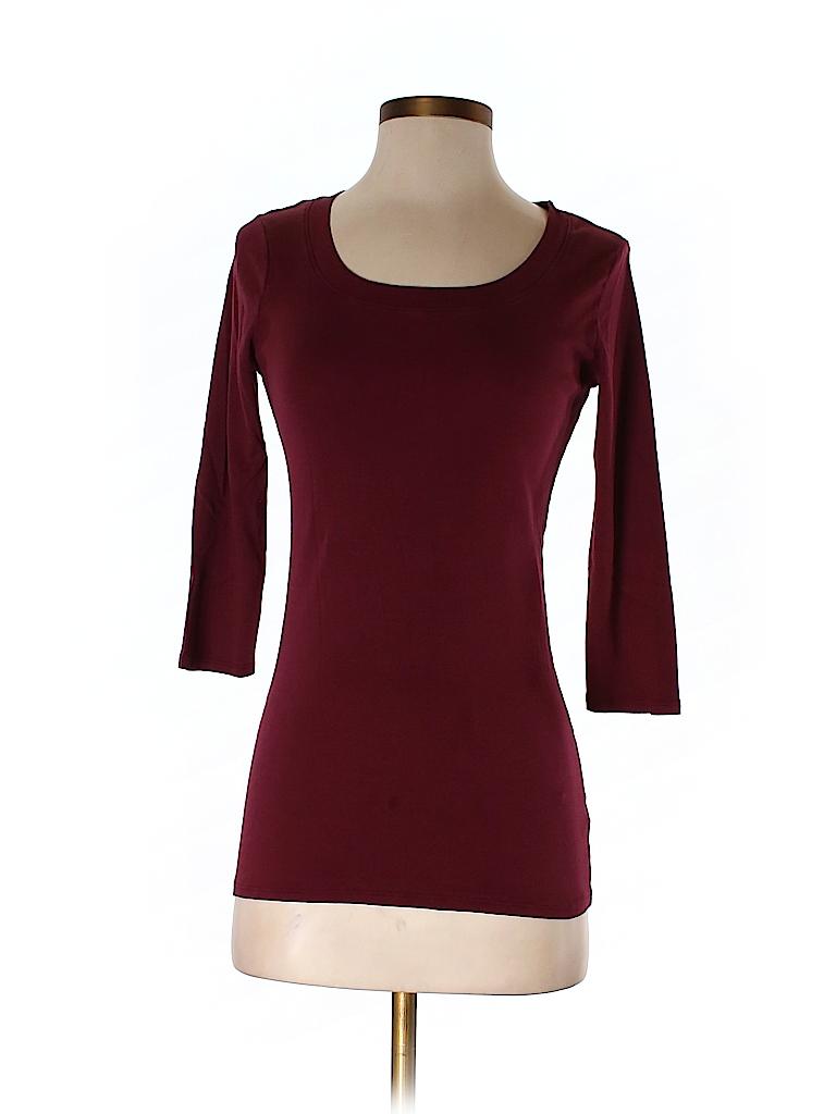 Michael Stars Women 3/4 Sleeve T-Shirt One Size